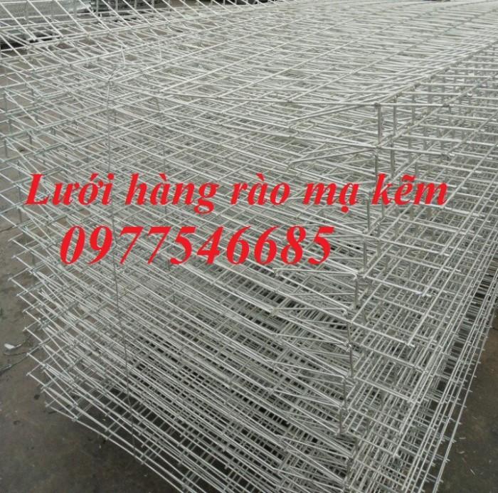 Hàng rào lưới thép hàn, hàng rào mạ kẽm2