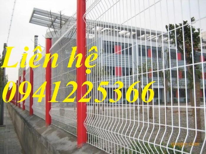 Hàng rào lưới thép hàn, hàng rào mạ kẽm4