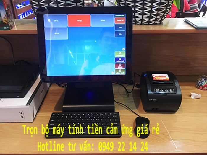 Bán máy tính tiền giá rẻ cho shop hoa tươi tại Đồng Tháp0