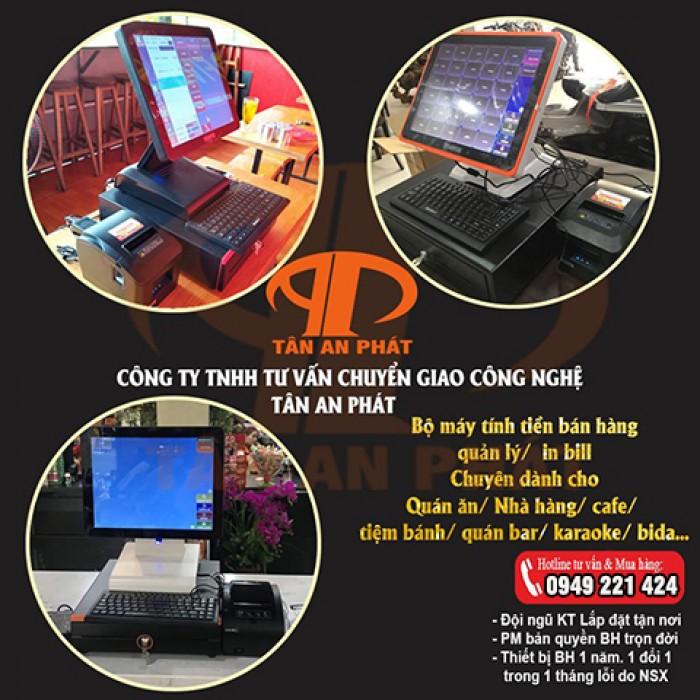 Lắp đặt máy tính tiền cho quán cafe tại Đồng Tháp0