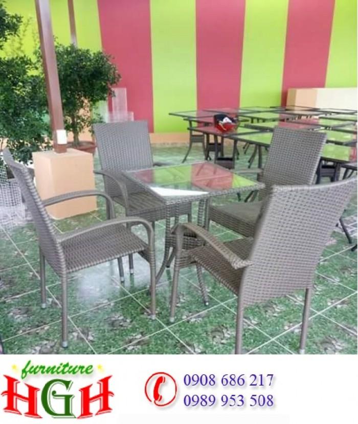 Cần thanh lý 70 bộ bàn ghế cafe sân vườn nghg 2