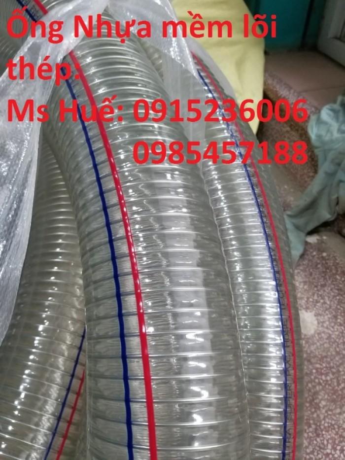 ỐNG Nhựa mềm lõi thép phi 150, phi 200 Dùng để dẫn dầu, dẫn hóa chất...