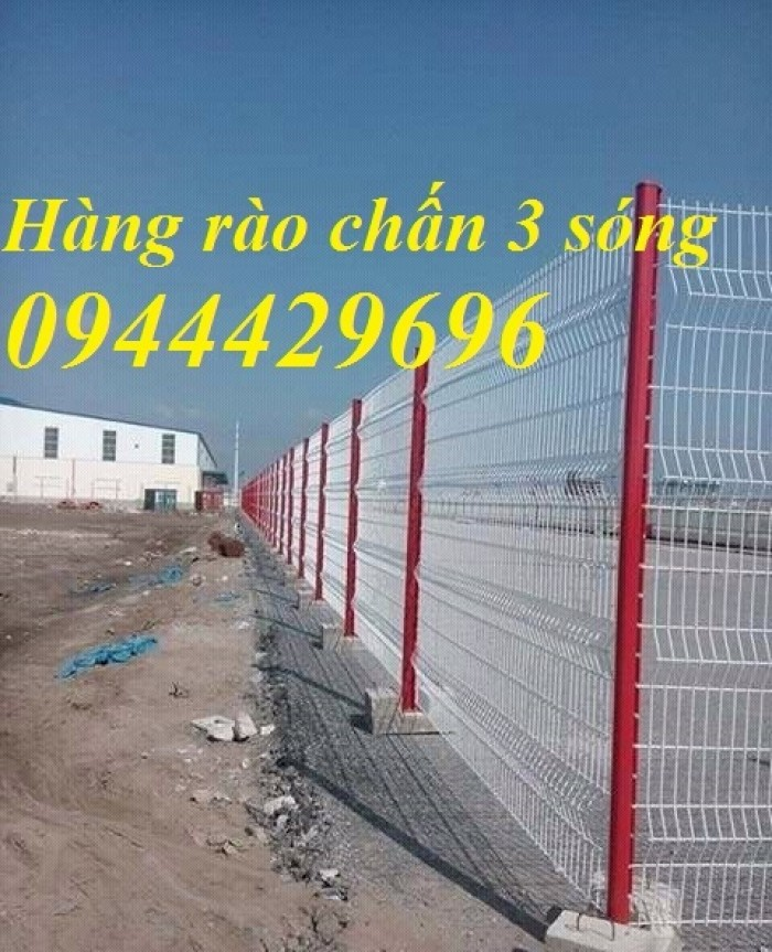 Hàng Rào Lưới  D4 A 50X150 Mạ Kẽm Sơn Tĩnh Điện.2