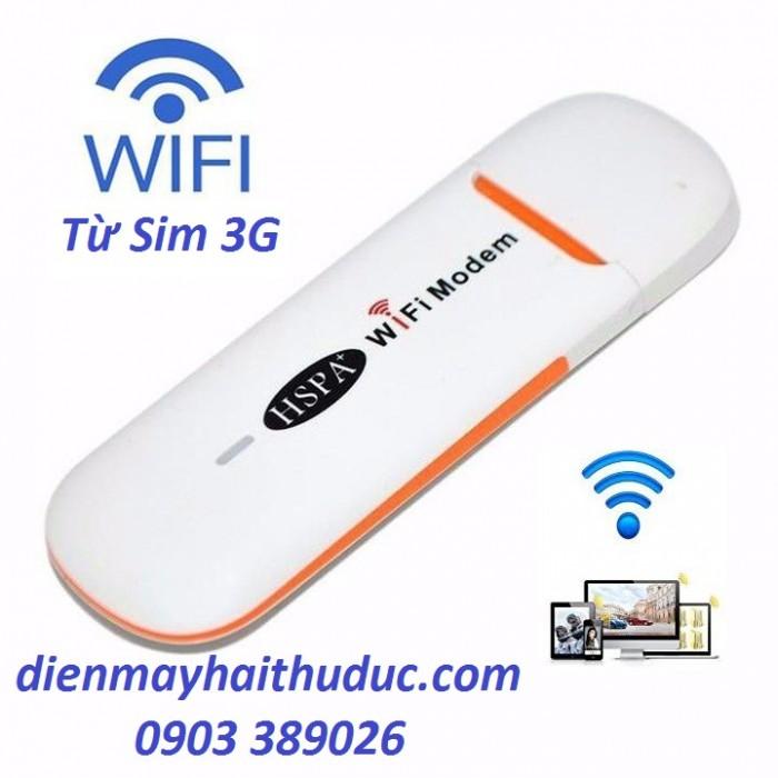 USB HSPA Wifi Modem 3G Sử dụng đa mạng Viettel, Vinaphone, Mobifone... 1