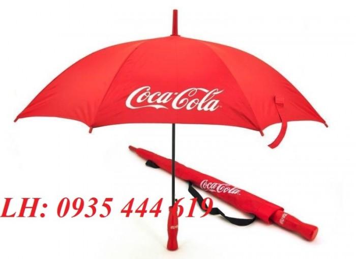 Sản xuất dù cầm tay in logo quảng cáo tại Huế1