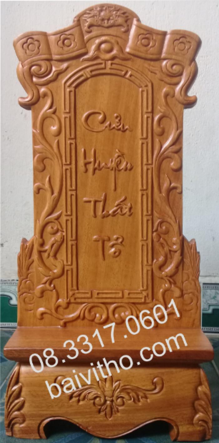 Bài vị thờ bằng gỗ3