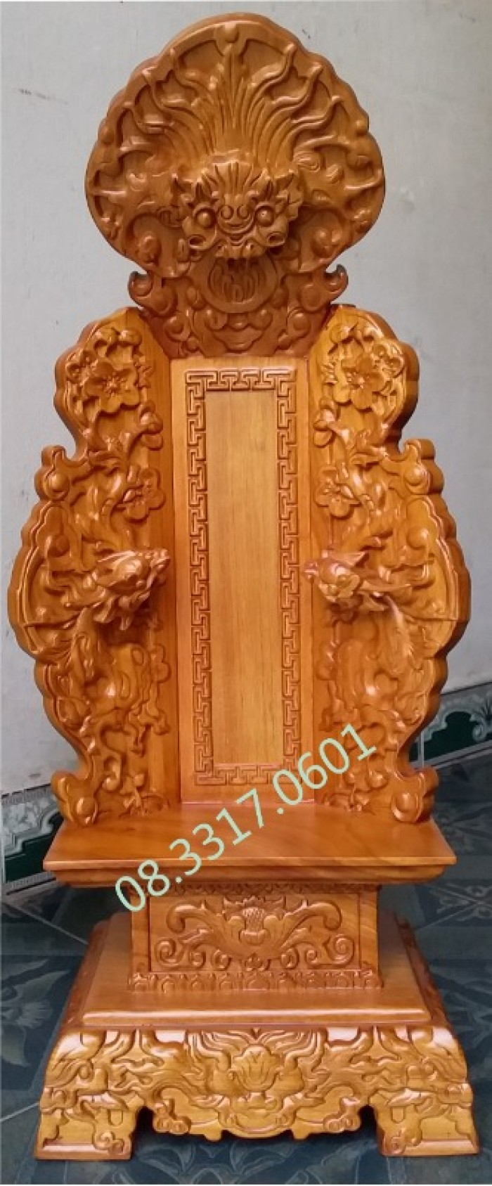Bài vị thờ bằng gỗ12