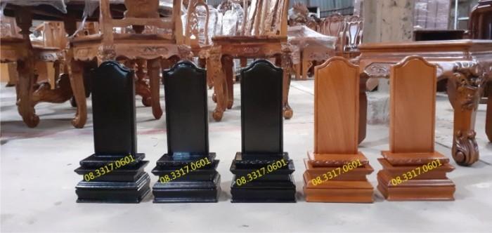 Bài vị thờ bằng gỗ0