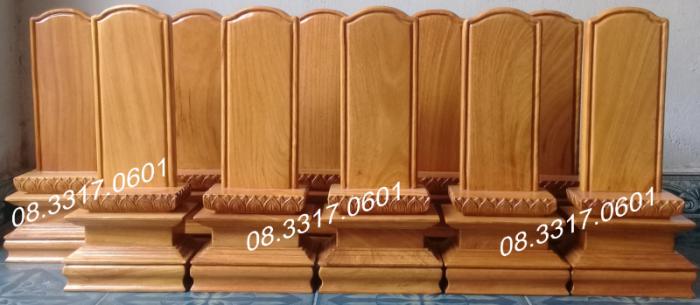 Bài vị thờ bằng gỗ2