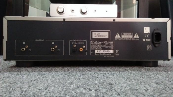 Cd Denon Dcd-1500ae . Made In Japan3