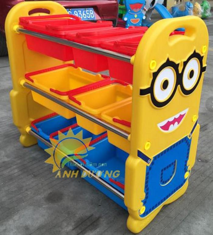 Chuyên cung cấp kệ nhựa mầm non giá rẻ, chất lượng cao cho trẻ nhỏ2