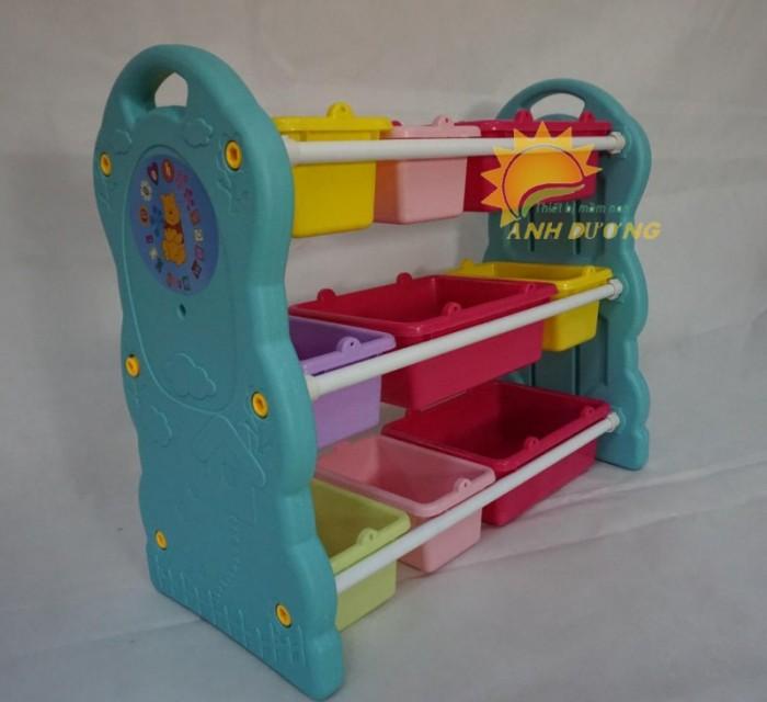 Chuyên cung cấp kệ nhựa mầm non giá rẻ, chất lượng cao cho trẻ nhỏ1