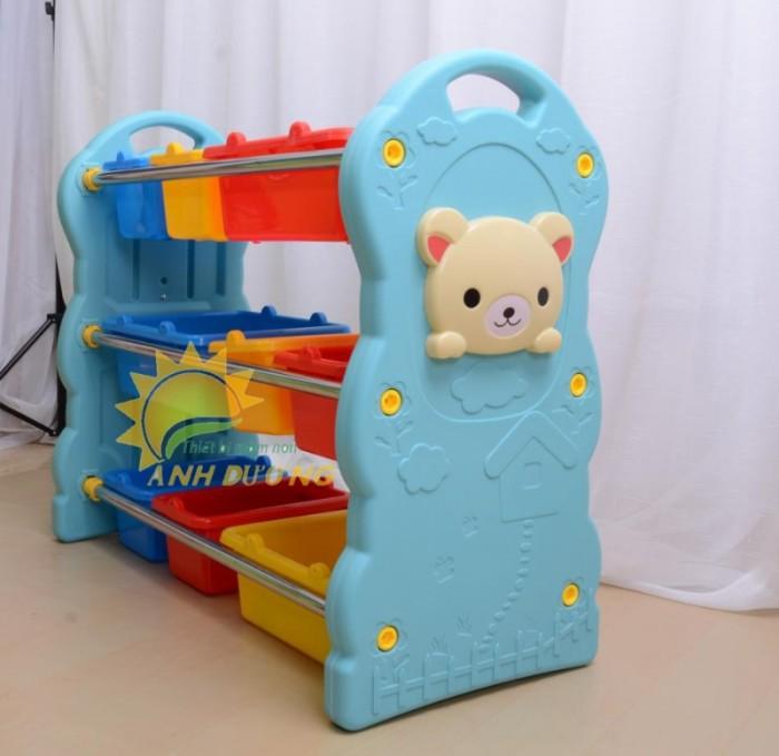 Chuyên cung cấp kệ nhựa mầm non giá rẻ, chất lượng cao cho trẻ nhỏ3