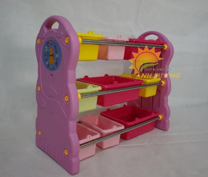 Chuyên cung cấp kệ nhựa mầm non giá rẻ, chất lượng cao cho trẻ nhỏ5