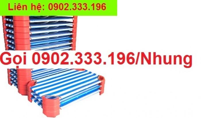 Giường ngủ mầm non tại An giang, giường trẻ em mầm non tại AN giang3