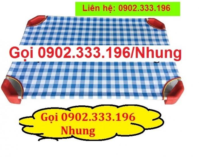 Giường ngủ mầm non tại An giang, giường trẻ em mầm non tại AN giang11