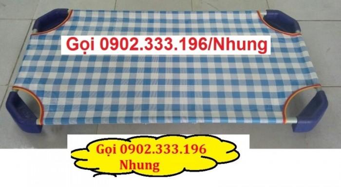 Giường ngủ mầm non tại An giang, giường trẻ em mầm non tại AN giang4