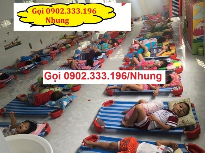 Giường ngủ mầm non tại An giang, giường trẻ em mầm non tại AN giang9