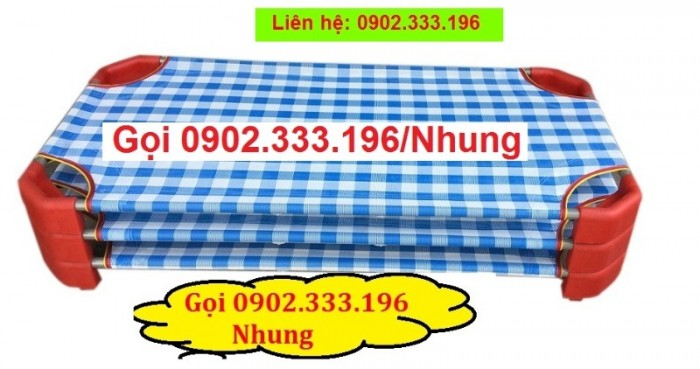 Giường ngủ mầm non tại An giang, giường trẻ em mầm non tại AN giang7