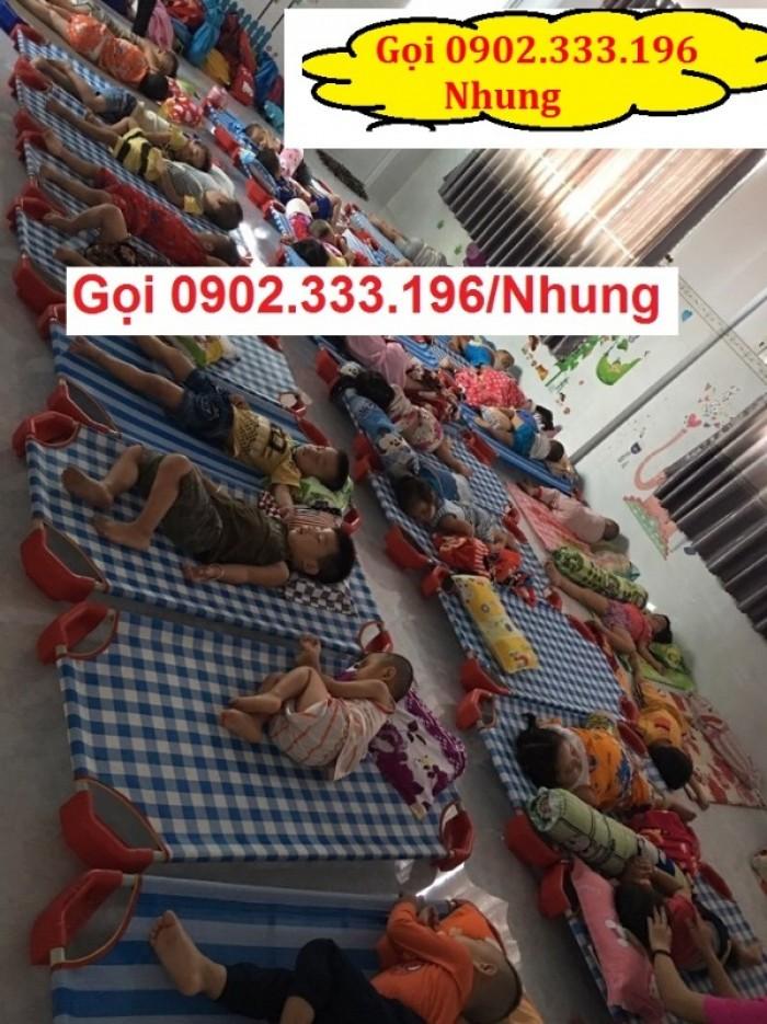 Giường ngủ mầm non tại An giang, giường trẻ em mầm non tại AN giang13