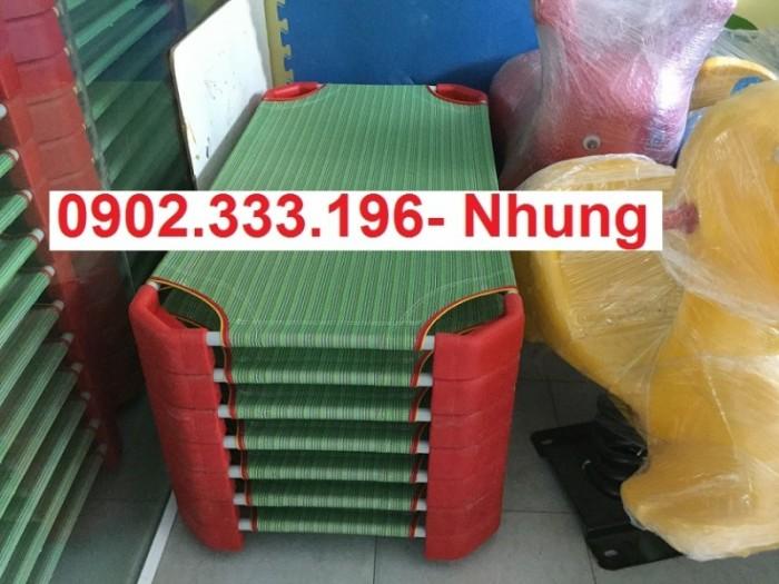 Giường ngủ mầm non tại An giang, giường trẻ em mầm non tại AN giang12
