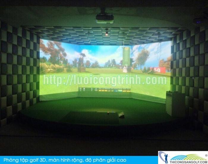 Phòng Tập Golf 3D đẳng cấp thương gia0