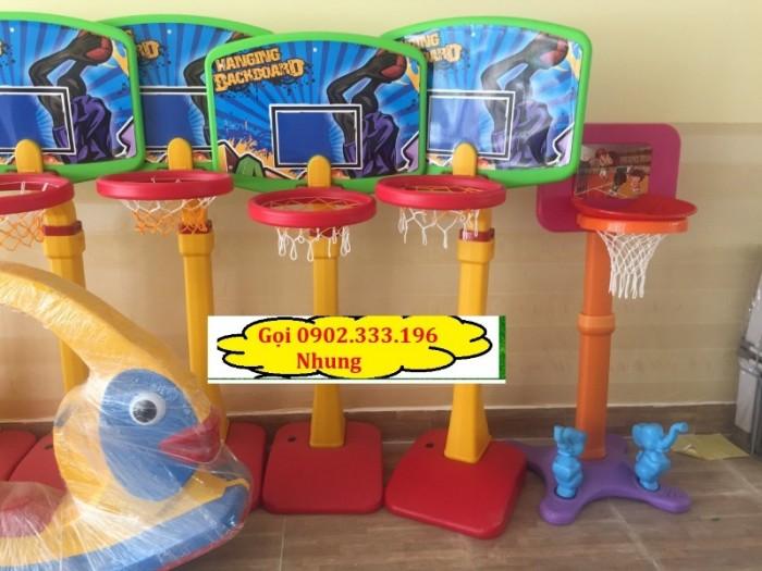 Bán trụ bóng rổ, cung cấp trụ bóng rổ mầm non5