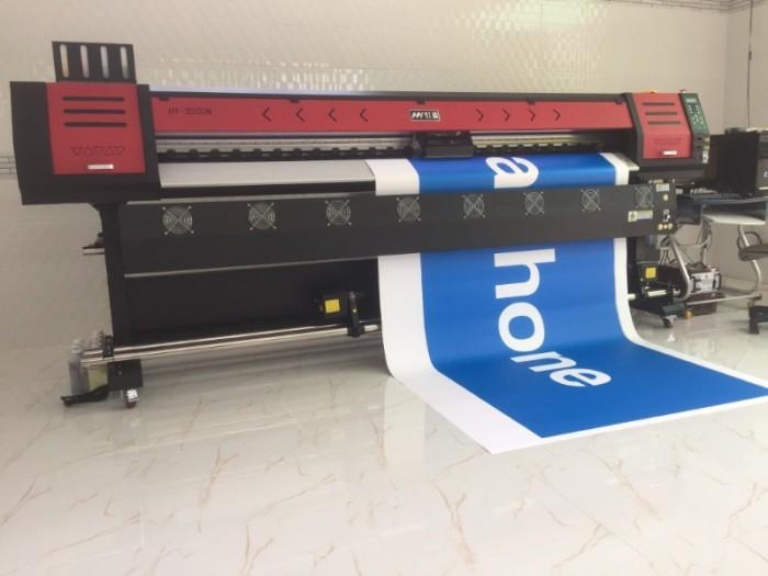 Bán máy in HY-2500N hỗ trợ in trên mọi kích thước, từ full size ngang 2m5 đến các khổ in 1m, 1m2, 1m4, 1m6, 1m8, 2m | Hotline: 0937 569 868 - Mr Quang6