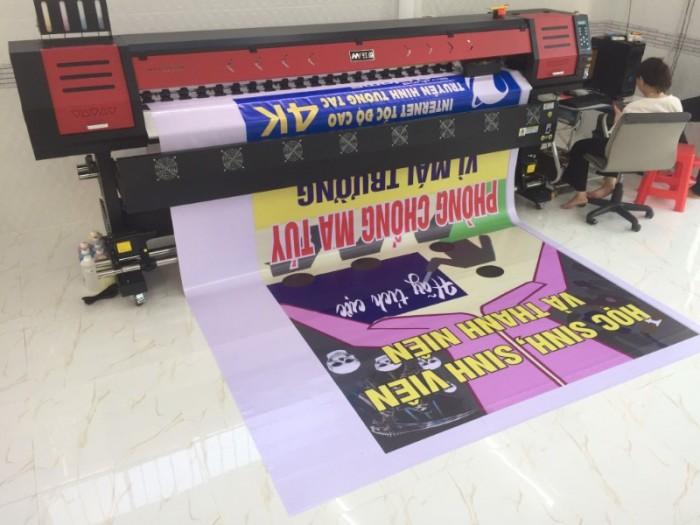 Làm bảng hiệu quảng cáo, băng rôn quảng cáo, banner, bảng hiệu hộp đèn với thành phẩm từ Bán máy in HY-2500N, luôn cho chất lượng đẹp, bền màu | Hotline: 0937 569 868 - Mr Quang4