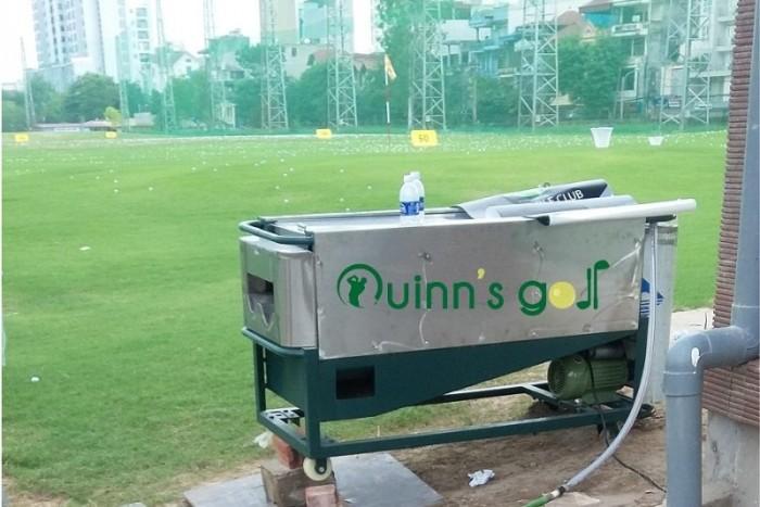 Máy rửa bóng golf dành cho các sân tập golf1