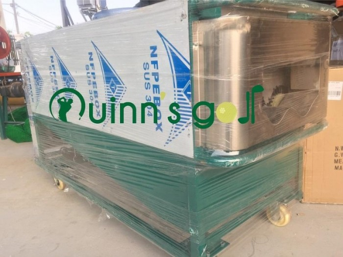 Máy rửa bóng golf dành cho các sân tập golf2