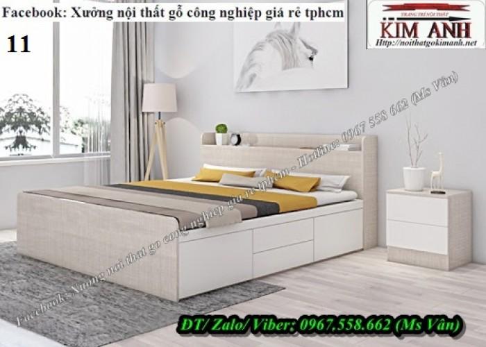 Đóng giường gỗ công nghiệp10