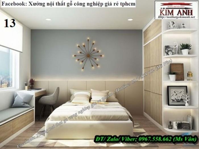 Mẫu Giường Ngủ gỗ công nghiệp An Cường đẹp giá rẻ 12