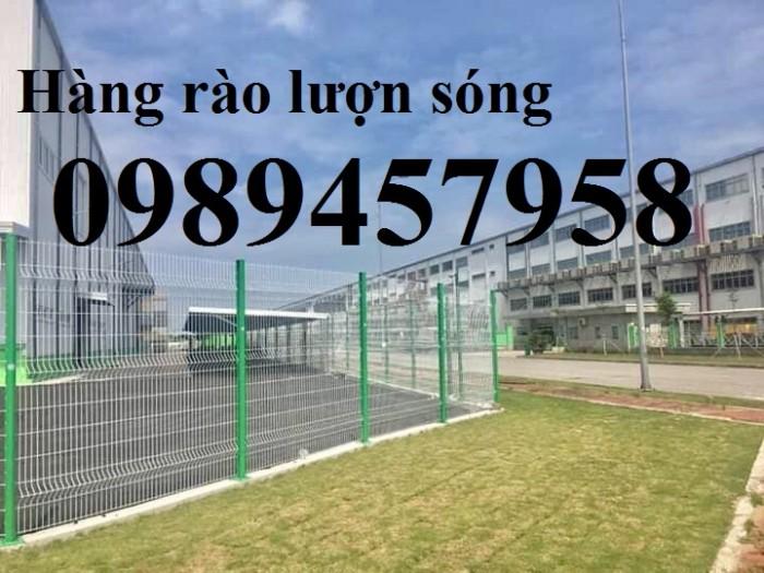 Hàng rào lưới thép hàn sơn tĩnh điện phi 5 ô 75x200 và 50x2502