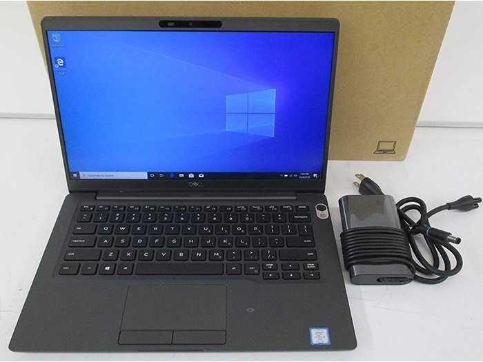 Dell Latitude 7400 _ i7 8665U _ Ram 16GB _ SSD 256G Nvme _ Finger _ IR Camera0