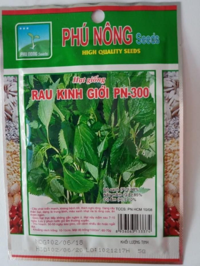 Hạt giống rau kinh giới Phú Nông1