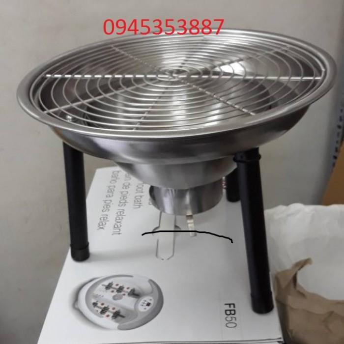 Bếp nướng than hoa inox giá rẻ cho quán nướng0