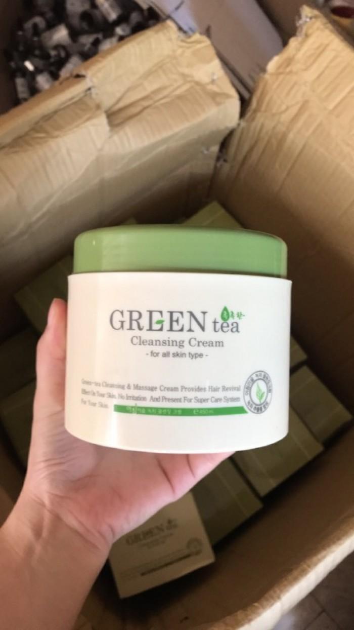Kem massage Green Tea Hàn Quốc1