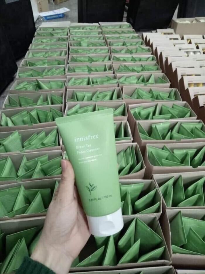 Sữa rửa mặt trà xanh Innisfree3
