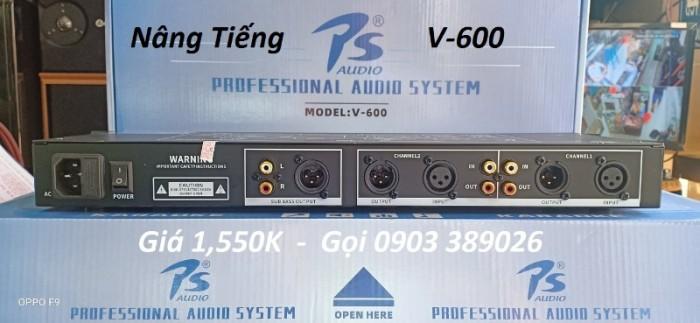 Nâng tiếng PS Audio-V600 Có cổng out Sub riêng biệt nên dễ dàng sử dụng cho những dàn âm thanh có loa sub1
