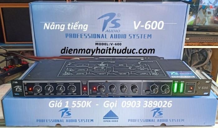 Nâng tiếng PS Audio-V600 giúp lời ca tiếng hát trở nên mạnh mẽ, trong sáng hơn.3