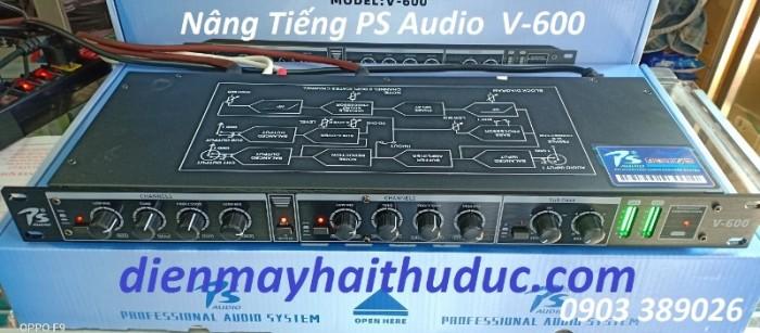Nâng tiếng PS Audio-V600 Kết hợp với vang số, Amply hoặc lọc,…giúp nhạc hay hơn , tiếng ca nhẹ hơn2