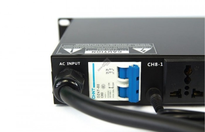 Quản lý nguồn điện Kiwi S802A Đặc biệt với Aptomat hiện đại trên S802A 3