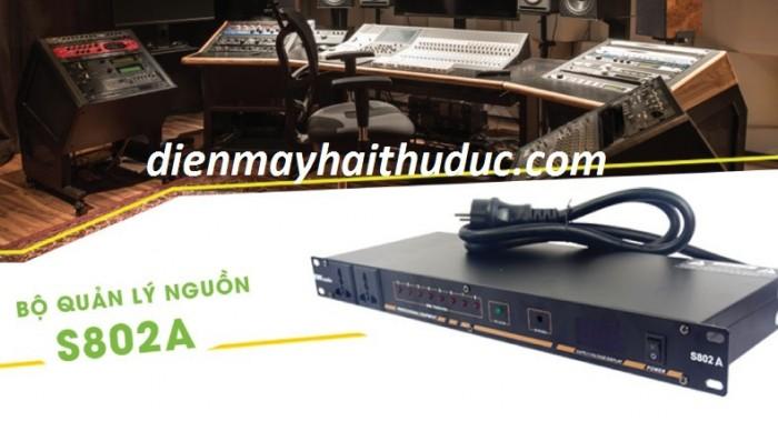 Quản lý nguồn điện Kiwi S802A chuyên xài cho các dàn nhạc, các dàn karaoke.2
