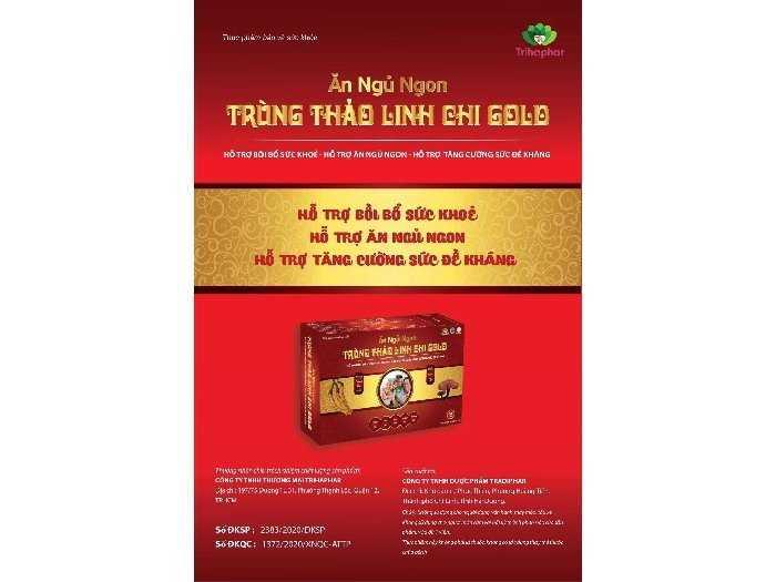 Trùng Thảo Linh Chi Gold1