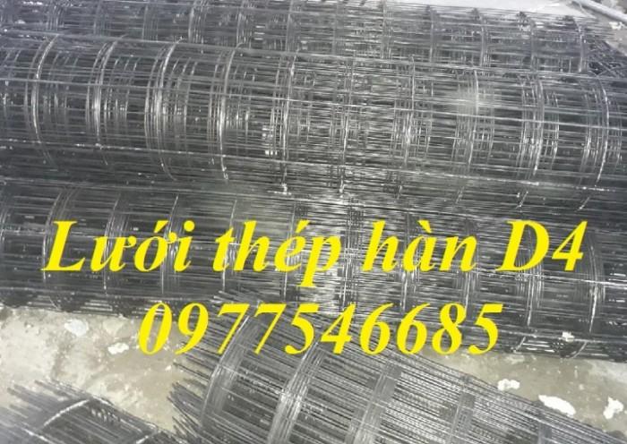 Lưới thép hàn  đổ sàn chống nứt  D4a50x50,D4a100x100,D4a150x150 Tại Hà Nội4
