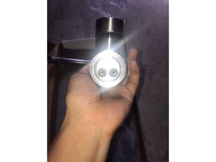 Vòi chậu inox Sus 304 Nóng Lạnh