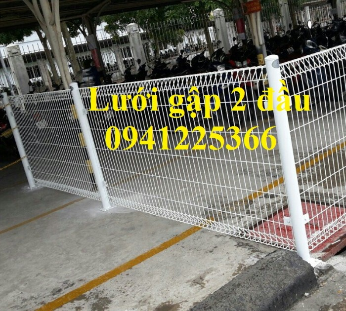 Hàng rào lưới thép.Hàng rào Ngăn Kho,Hàng rào Gập Đầu2