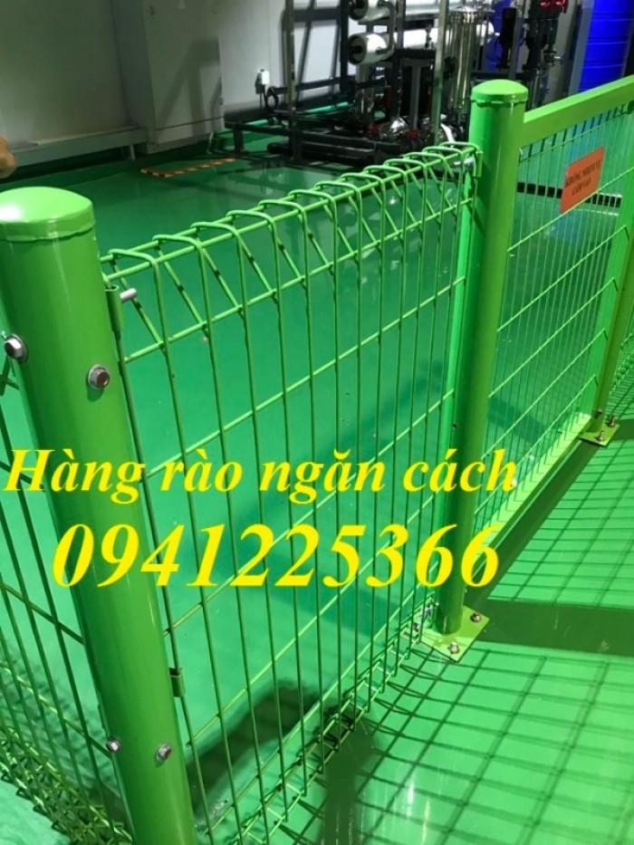 Hàng rào lưới thép.Hàng rào Ngăn Kho,Hàng rào Gập Đầu3