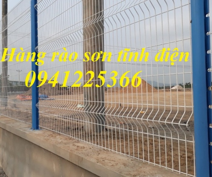 Hàng rào lưới thép.Hàng rào Ngăn Kho,Hàng rào Gập Đầu6